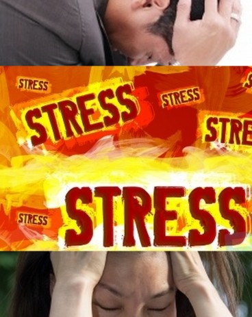 collage stress